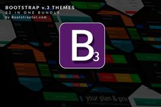 Bootstrap 3.0. themes Mega Bundle by Bootstraptor on @creativemarket