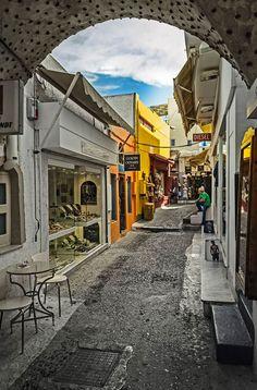 Fira, Santorini, Greece #travel