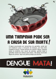campanha contra dengue 2012 - Pesquisa Google Empty Bottles, Campaign, Good Ideas, Activities