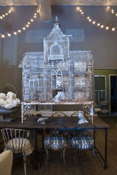 Victorian bird cage ~ so so lovely!