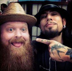 Jason Clay Dunn & Dave Navarro - Ink Master - Love this show! New Tattoos, I Tattoo, Cool Tattoos, Tatoos, Awesome Tattoos, Jason Clay Dunn, Dave Navarro Ink Master, Chris Nunez, Ink Master Tattoos