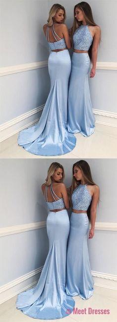sexy prom dress,prom dresses,prom dress, blue prom dress,long prom dress PD20188536
