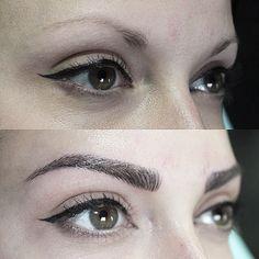 Microblading – My Eye Brow Eyebrow Game, Eyebrow Pencil, Permanent Makeup Eyebrows, Eyebrow Makeup, Brow Blading, Mircoblading Eyebrows, Semi Permanente, Good Skin Tips, Perfect Brows
