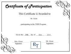 Parenting Class Certificate Of Completion Template Best Of Participation Certificate with A Apny Logo Certificate Of Participation Template, Free Printable Certificate Templates, Certificate Of Completion Template, Certificate Format, Free Certificates, Birth Certificate Template, Training Certificate, Attendance Certificate
