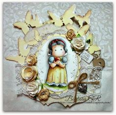 Cards by Barbara: Tilda with apple