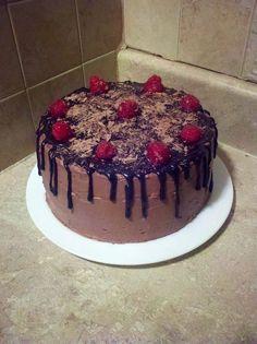I Heart Chocolate Cake A moist 3layer cake with chocolate