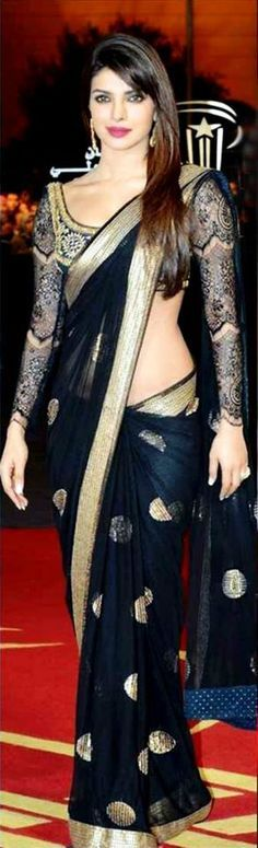Priyanka in Saree   #liveday.in