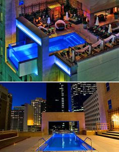 Hotel Joule in Dallas, Texas - The Hotel Joule is right down the street from where we live. I can't wait to swim in it's infinity pool this summer!