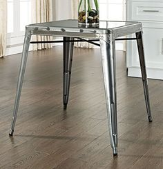 $169.00 Crosley Amelia Metal Cafe Table, Galvanized Crosley http://www.amazon.com/dp/B00BTKWKCQ/ref=cm_sw_r_pi_dp_8zbVvb17D7Z57