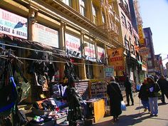 Canal Street shopping-a must!