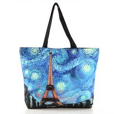 http://www.prettyguide.com/van-gogh-starry-night-galaxy-eiffel-tower-printing-tote-shopping-bag-p-215.html