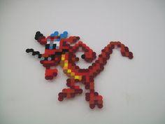 Mushu Perler Magnet by yumeleona23.deviantart.com on @deviantART