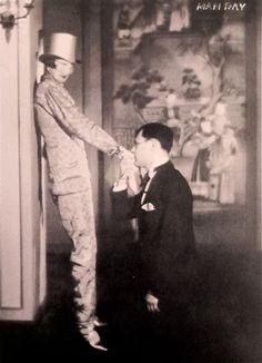 Man Ray Nancy Cunard and Tristan Tzara 1924