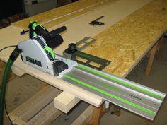 Ein Grundlagenartikel für Holzwerker über das Arbeiten mit Tauchsäge und Führungsschiene. Richtig benutzt ist es nicht schwer gute Ergebnisse zu erzielen