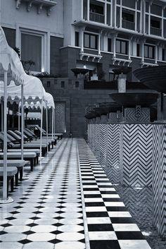 THE LEELA PALACE KEMPINSKI UDAIPUR, INDIA: Designed by BENSLEY Udaipur India, Hotel Interiors, Hotels And Resorts, Beijing, Mumbai, Landscape Design, Architects, Palace, Architecture Design