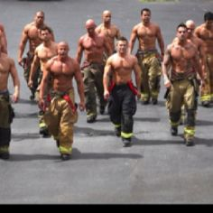 San Francisco Firefighters Calendar     Come On Baby, Light My Fire!!