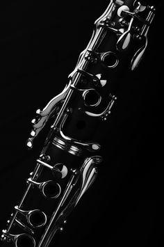 Black | 黒 | Kuro | Nero | Noir | Preto | Ebony | Sable | Onyx | Charcoal | Obsidian | Jet | Raven | Color | Texture | Pattern | Styling | Silver | Clarinet | Keys | Instrument | Music | Chrome
