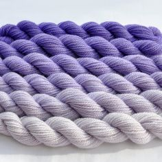 WOW! This Etsy seller dyes ombre yarn sets - have to try these!!!