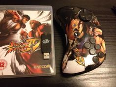 PS3 Controller Fighterpad Wireless + Streetfighter 4