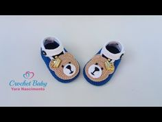 Crochet Baby Boots, Crochet Sandals, Crochet Shoes, Crochet Slippers, Knit Crochet, Baby Booties, Baby Shoes, Kids And Parenting, Knitting
