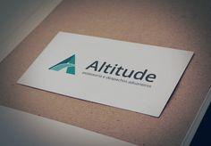 Cartão de visita conceito - Altitude