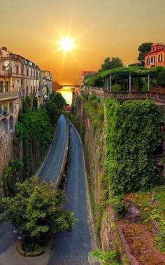 Sorrento, southern Italy.