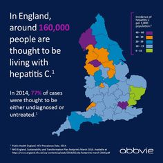 Where in England has the highest rates of #Hepatitis C?