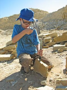 Road trip to Kemmerer, Wyoming (an easy drive from Park City or Salt Lake City) where you can DIG FOR 50 MILLION YEAR OLD FISH FOSSILS.  It's hugely fun for the whole family.  http://www.travelsavvymom.com/blog/family-travel/digging-for-fossils-in-wyoming/