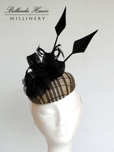 Cocktail Hat by BELLINDA HAASE #millinery #HatAcademy #hats