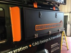Defender 90/110 Side Storage Lockers