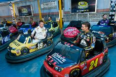 Carl Edwards Pictures - NBC Sports Brings 'Bumper NASCAR' Tour to Chase Fest in Downtown Chicago - Zimbio