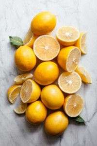 Meyer lemons: a great treat from November through March.