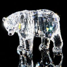 Swarovski Mother Bear Figurine In Clear. I have this one.
