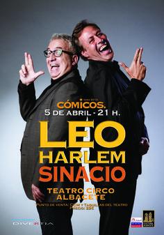 Cartel de Leo Harlem y Sinacio de la gira 2013