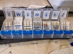 sewing machine needles storage ideas! #quilting #sewing #crafts #diy