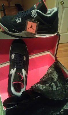 Air Jordan Retro IV Clean Tennis Shoes f4f8dbbc2