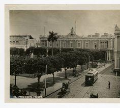 Havana antigua, Cuba . Palacio de los Capitanes Generales, Plaza de Armas, 1902-1920