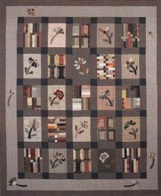 Love, love, love the taupe Japanese fabrics.