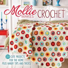 Customize your space with fun crochet projects from Mollie Makes! You'll love this book if: - You're a beginning crocheter looking for a great first or second project - You love to crochet home décor