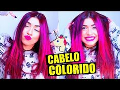 CABELO COLORIDO SEM TINTA #VEDA12 - YouTube