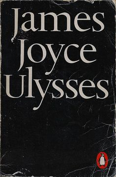 Penguin's 3000th book, 1968, Hans Schmoller, James Joyce, Modern Classics - Ulysses by benspenguins