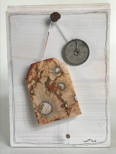 TeaDreams are sachet-article I have draw and stick and stitch and sew on used tea bags. So I fix things, I find on nature walks or through the city. I put in emotions, feelings, dreams and vibrations. Tea and grains Tea Bag Art, Tea Art, Tee Kunst, Coffee Filter Art, Tea Stained Paper, Used Tea Bags, T Bag, Textiles, Mail Art