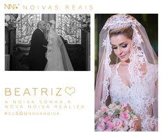 Beatriz #eusounovanoiva #noivasreais #vestidosdenoiva #noiva #bride #weddingdress #weddingdresses #casamento