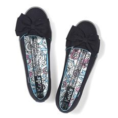 girls leather keds