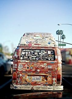To travel in a van and carry all the memories with you wherever you go :)