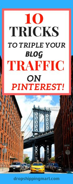 Struggling with blog traffic ? how you can get traffic to a new blog or website? With these easy 10 steps that we used on our Pinterest you can increase blog traffic in no time. Check us out now!