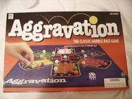 Aggravation. we played this game all the time when us five kids lived at home back in the 60's