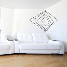 Decorando paredes com fita isolante