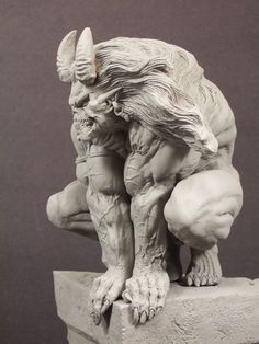 "Verotik ""Dalkiel"" sculpt by The Shiflett Brothers"