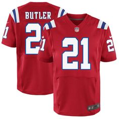 New England Patriots No.21 Malcolm Butler Red Elite Jersey only  23.88 cb60bd5c1